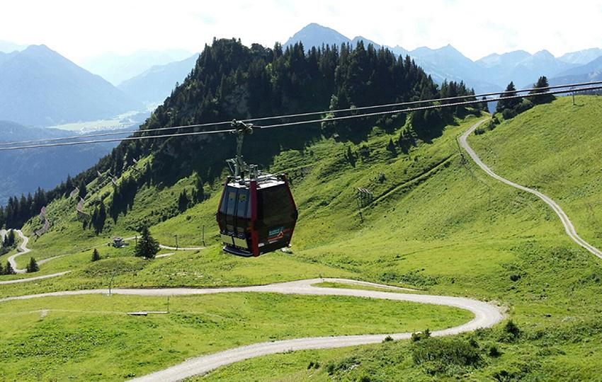 Ferienwohnung Dreer Tirol Reutte Höfen Österreich